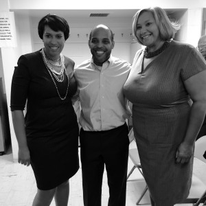 Mayor Bowser, Councilwoman Alexander, PBCCA President J. Williams