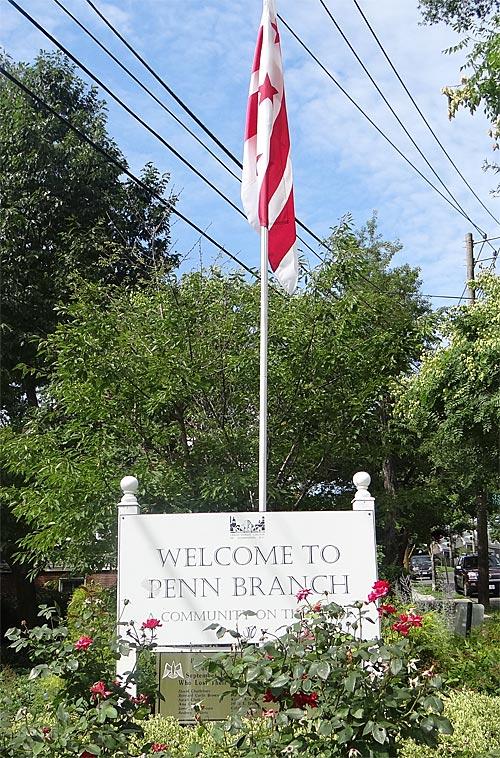 Penn Branch gateway