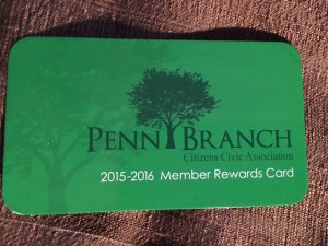 Penn Branch Membership Rewards