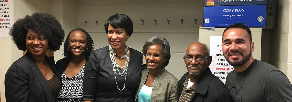 Mayor Muriel Bowser Speaks at Penn Branch Meeting