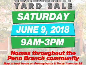 Community Yard Sale – June 9