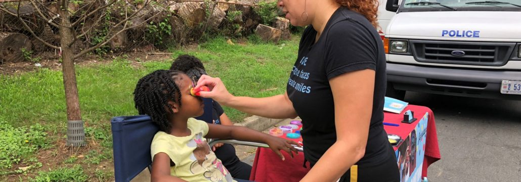 PBCCA Community Day 2018 - Kids Face Painting