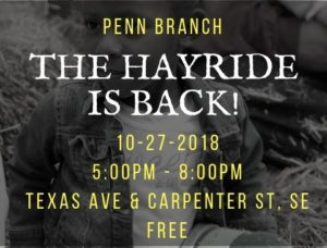 Fall Hayride Coming Back to Penn Branch!