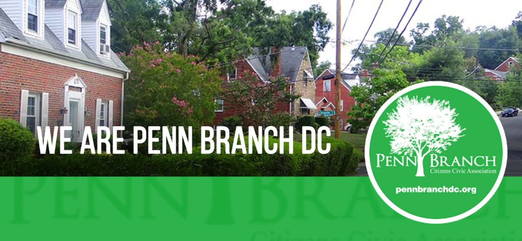 WE ARE PENN BRANCH DC